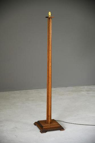 Oak Deco Standard Lamp (1 of 10)