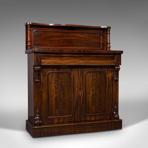 Antique Chiffonier, English, Mahogany, Sideboard, Cabinet, Victorian, Circa 1880 (1 of 12)