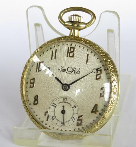 Vintage 1930s pocket watch (1 of 4)