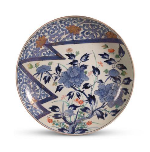 Japanese Meiji Period Imari Dish (1 of 3)