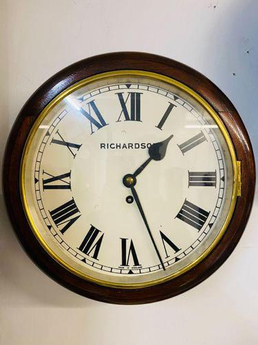 Single Fusee Dial Clock (1 of 5)
