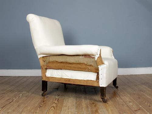 19th Century Deep Seated Country House Armchair (1 of 7)