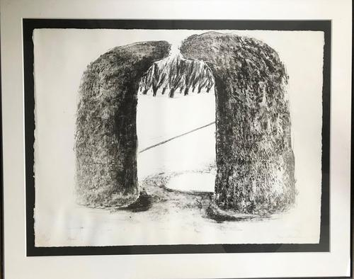 Original etching 'Arch 1' by Ivor Abrahams RA. 1935-2015 Signed, dated and inscribed. (1 of 4)