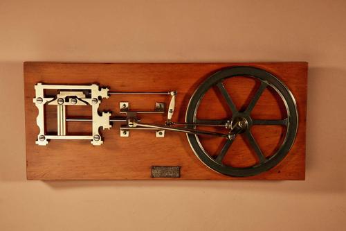 Merkelbach & Co Amsterdam Working Education Model of an Engine (1 of 8)