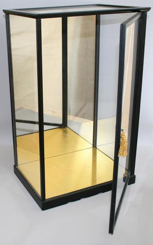 Ebonised Counter Top or Doll Display Cabinet (1 of 3)