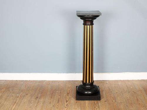 20th Century Ebonised & Gilt Pedestal (1 of 5)