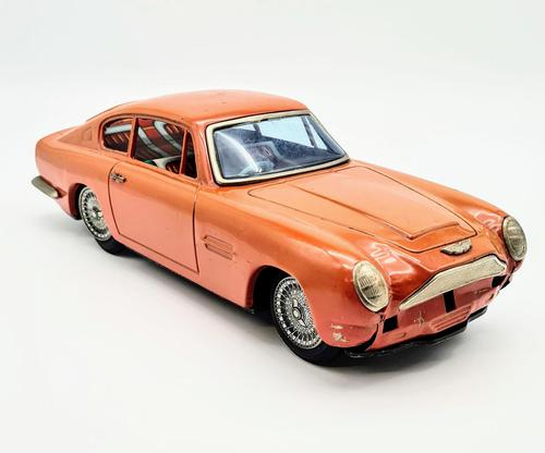1960s Friction Japan Tin Aston Martin Db6 Asahi Atc Mib Toy Car (1 of 7)