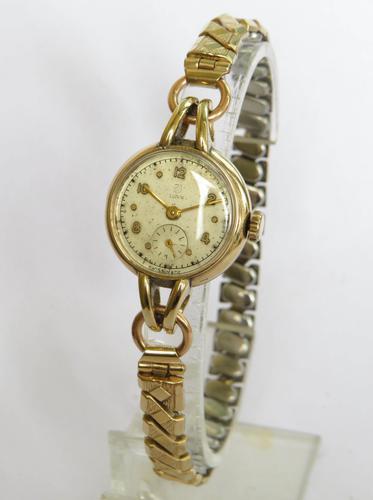 Ladies 9ct Gold Tudor Wrist Watch 1951 (1 of 5)