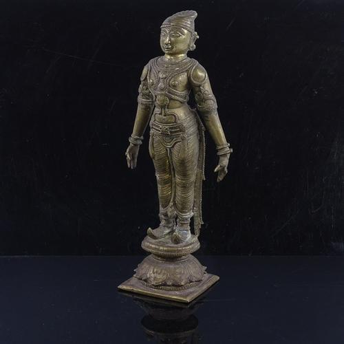 17th / 18th Century Indian Bronze Figure of God (1 of 3)