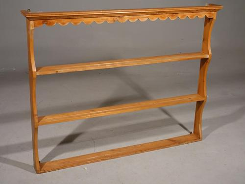 Early 20th Century Pine Delft Rack (1 of 4)