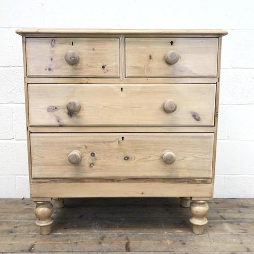 Antique Pine Chest of Drawers (m-1490) (1 of 7)
