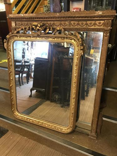 Original Victorian Gilt Mirror (1 of 13)