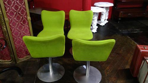 Set of 4 Stylish Mid Century Beyon Designer Chairs (1 of 4)