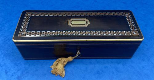 19th Century French Fruitwood Glove Box (1 of 9)