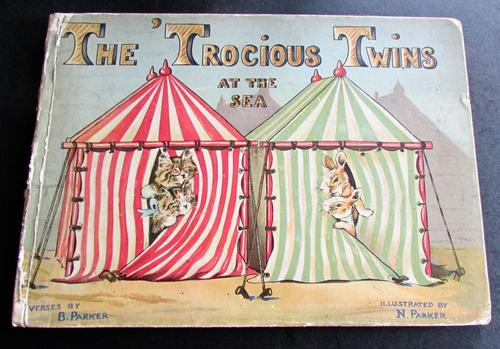 1926 1st Edition - The Trocious Twins at the Sea by B. Parker & N. Parker (1 of 5)