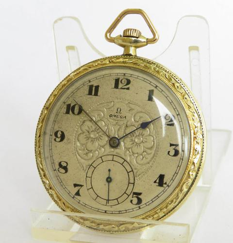 Antique Art Deco Omega Pocket Watch (1 of 3)