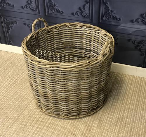 Wicker Log Basket (1 of 4)