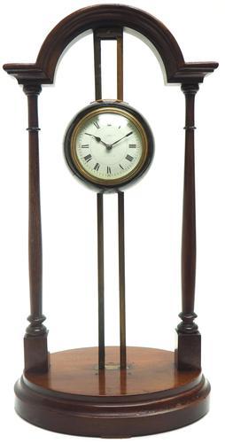 Rare Vickery gravity clock This gravity Clock, 8 day mantel clock (1 of 11)