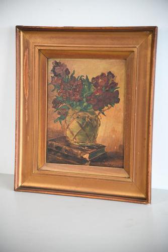 C Harris Still Life Oil Painting (1 of 12)