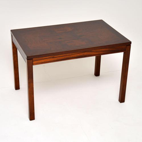 1960's Vintage Rosewood Coffee / Side Table by Heggen (1 of 8)