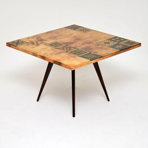 1960's Italian Lacquered Parchment Coffee Table by Aldo Tura (1 of 11)