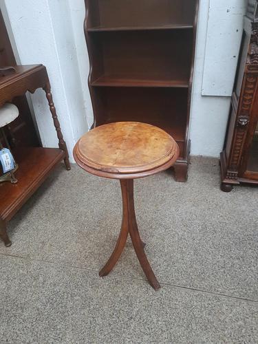 Small Walnut Wine Table (1 of 4)