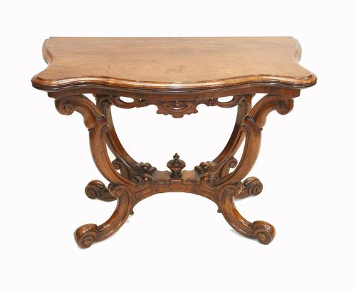 Victorian Card Table Antique Games Tables Rosewood c.1880 (1 of 13)