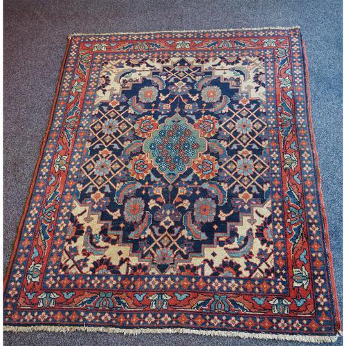 Antique Persian Hamadan Rug. Lovely Design (1 of 6)