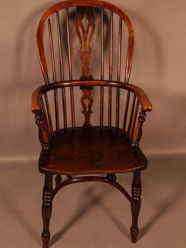 High Back Windsor Chair Ash & Elm Rockley Maker (1 of 8)