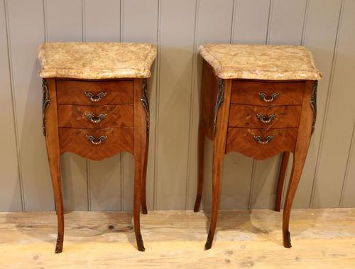Tulipwood And Mahogany Bedside Cabinets (1 of 9)
