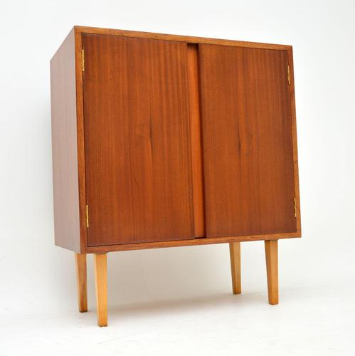 1960's Vintage Mahogany Drinks Cabinet (1 of 7)