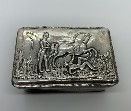 Dutch Silver Table Snuff Box (1 of 8)