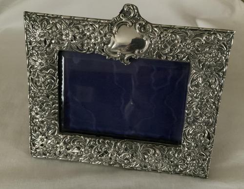 Edwardian Silver Frame (1 of 4)