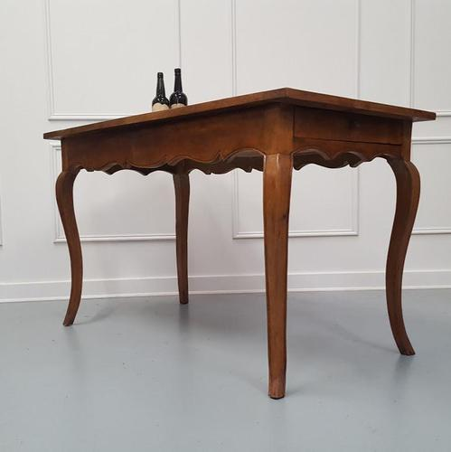 Pretty French Cherry Table c.1840 (1 of 7)