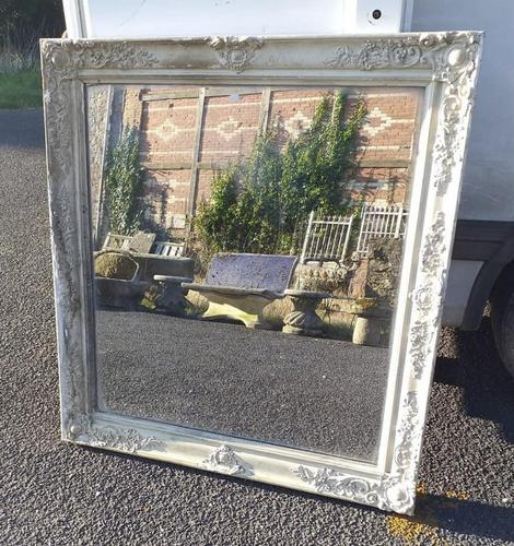Early 19th Century Large French Mirror (1 of 6)