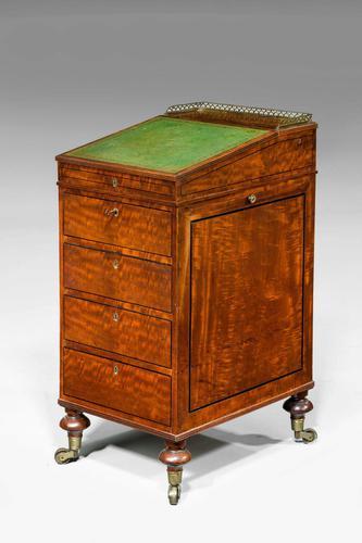 Regency Period Mahogany Davenport Desk (1 of 5)