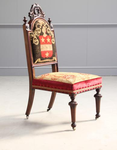 19th Century Rosewood Side Chair (1 of 8)
