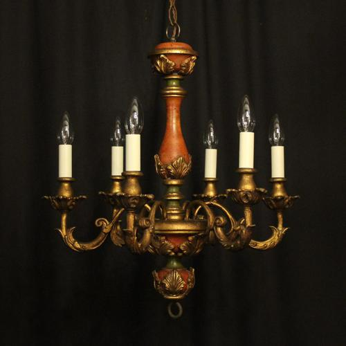 Florentine 6 Light Polychrome Chandelier (1 of 10)