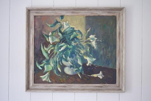 Mid Century Large Still Life Flowers by Bob Vigg (1 of 10)