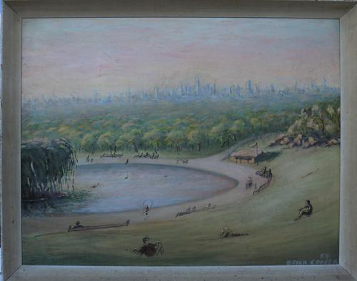 New York Skyline from Central Park by Bryan Cooper (1 of 8)