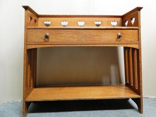 Arts & Crafts Oak Table -  Liberty & Co (1 of 8)