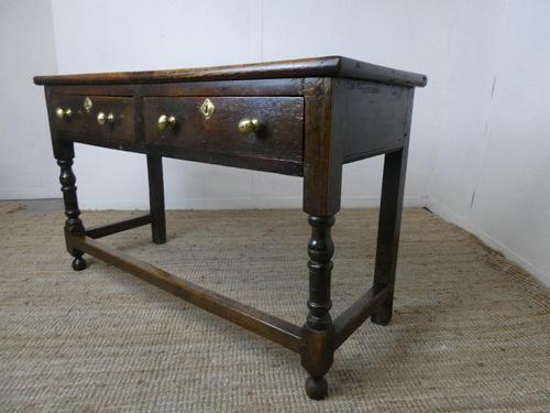 English 18th Century Oak Dresser (1 of 12)