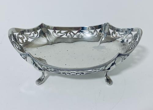 Antique Solid Sterling Silver Bon Bon Dish (1 of 12)