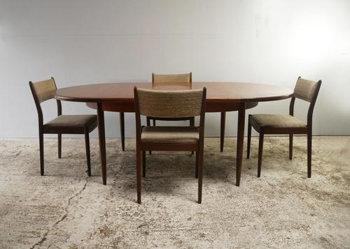 1970's G Plan mid century extending dining table and chairs (1 of 9)