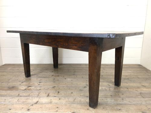 Early 19th Century Oak Kitchen Table (1 of 12)