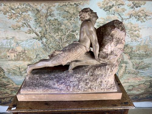 Large Terracotta Sculpture by Émile Grégoire (1 of 10)