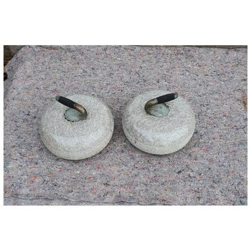 Good Pair of Scottish Granite Curling Stones (1 of 7)