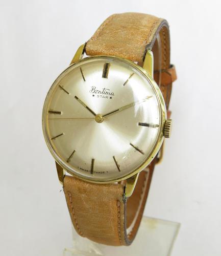 Gents 1960s Bentima Star Wrist Watch (1 of 5)