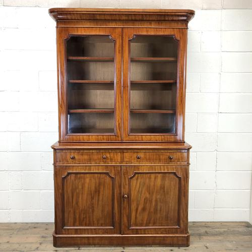 Antique Mahogany Two Stage Bookcase (1 of 10)