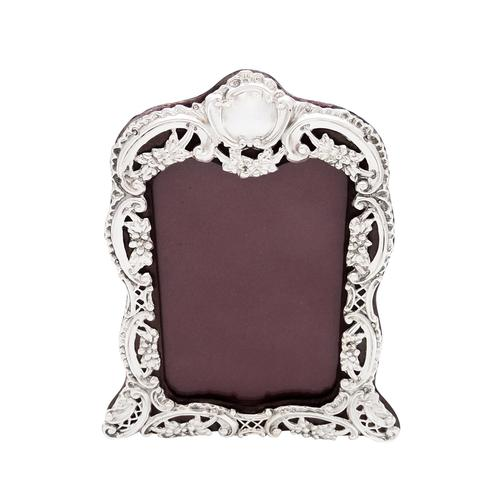 """Antique Victorian Sterling Silver 8"""" Photo Frame 1899 (1 of 9)"""